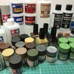 プラモデル用塗料・基本的な種類を解説