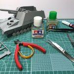 プラモデル製作工具・クオリティーを上げる工具を紹介