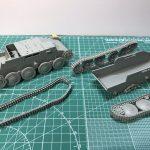 連結式履帯をキレイに塗装するための・ロコ組みとC組みを解説